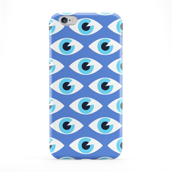 Blue Eyes Pattern Phone Case by BYMBOW