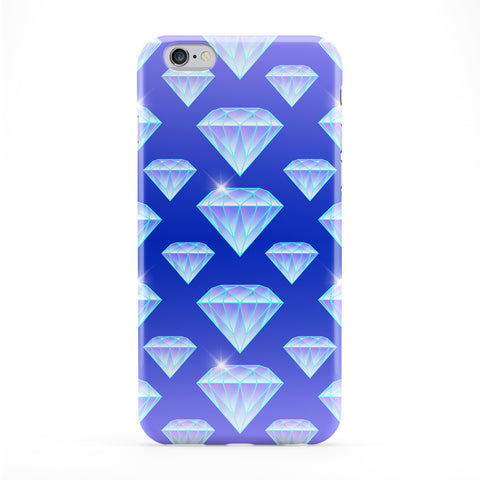 Blue Diamond Pattern Phone Case by BYMBOW
