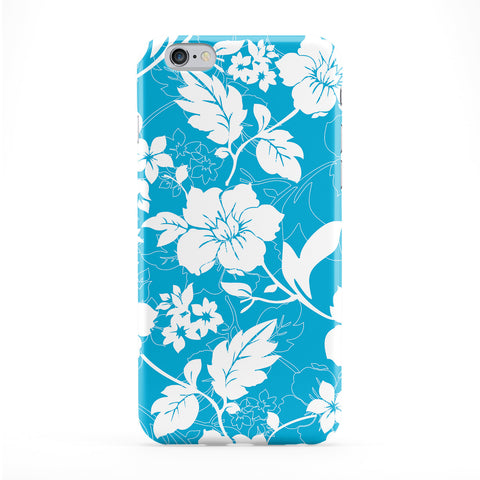 Blue And White Floral Phone Case by BYMBOW