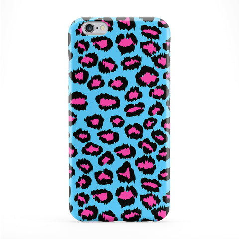 Blue And Pink leopard Print Phone Case by BYMBOW