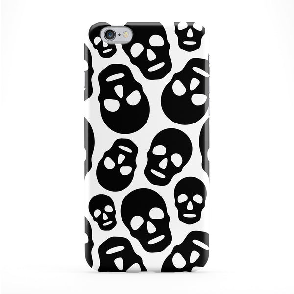 Black White Skulls Phone Case by BYMBOW