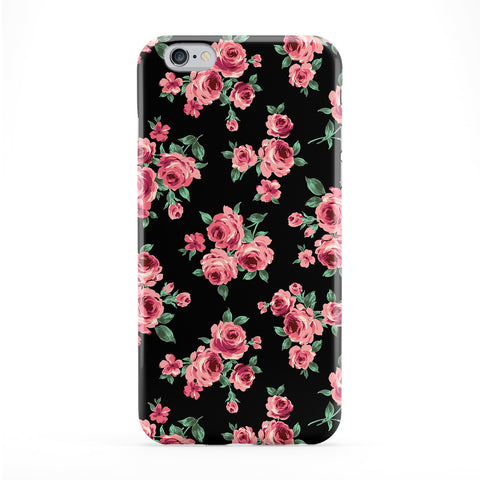 Black Pink Roses Phone Case by BYMBOW