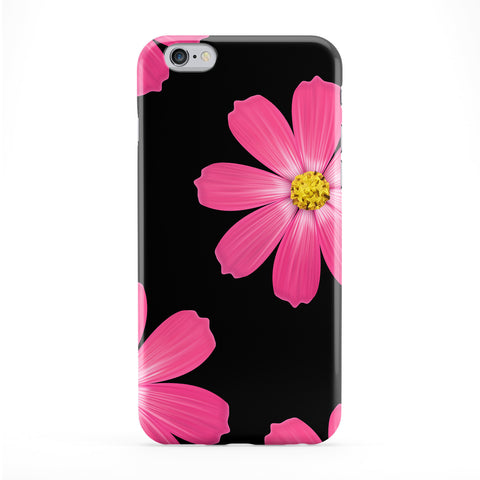 Black And Pink Flowers Phone Case by BYMBOW