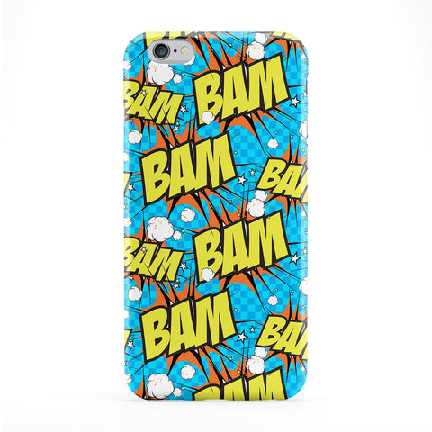 Bam Blue Phone Case by BYMBOW
