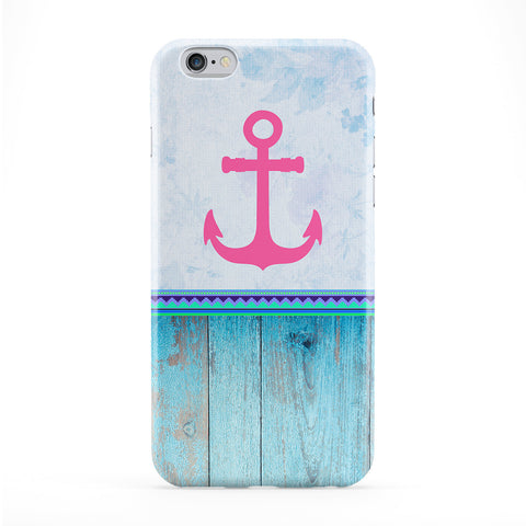 Anchor Blue Phone Case by BYMBOW