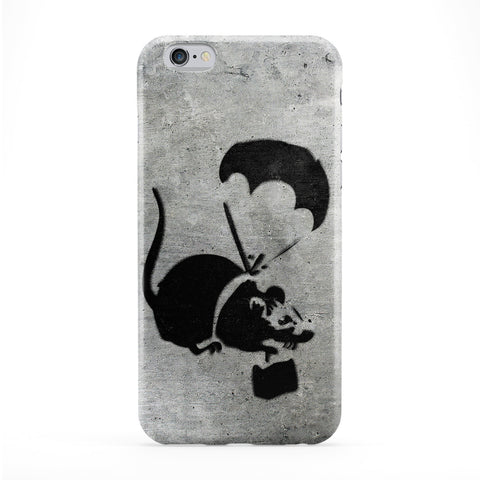 Banksy Flying Rat Phone Case by Banksy