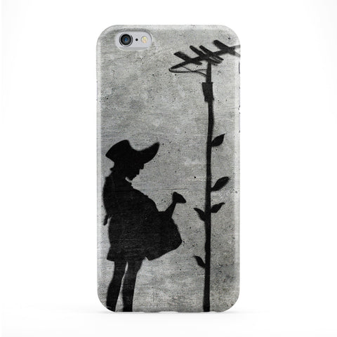 Banksy Girl and Tree Phone Case by Banksy