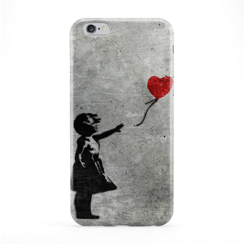 Banksy Girl with Heart Balloon Phone Case by Banksy