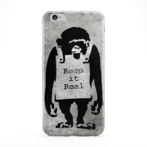 Banksy Keep it Real Phone Case by Banksy