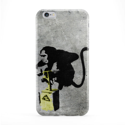 Banksy Monkey Detonator Phone Case by Banksy
