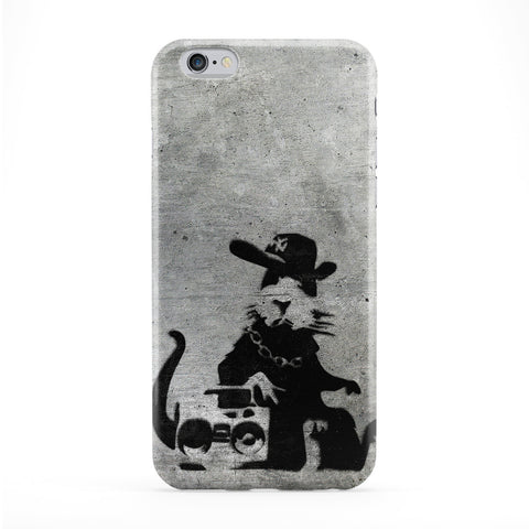 Banksy NY Music Rat Phone Case by Banksy