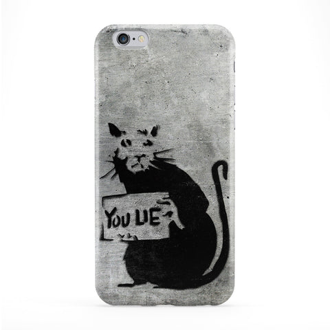 Banksy Rat Phone Case by Banksy