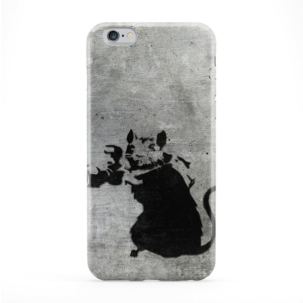 Banksy Rat with Camera 2 Full Wrap Protective Phone Case by Banksy