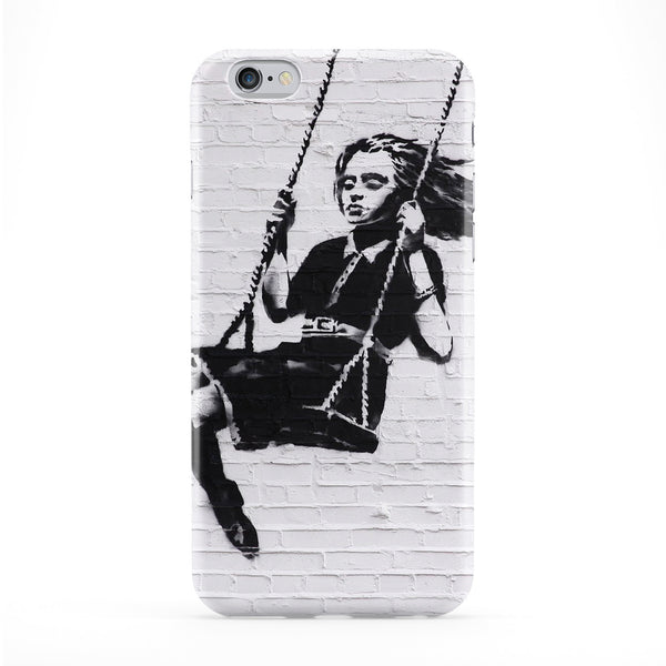 Girl Phone Case by Banksy