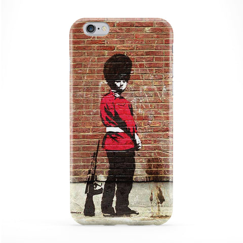 Police Urinating on the Wall Phone Case by Banksy