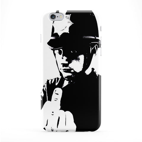 Rude Cop Full Wrap Protective Phone Case by Banksy