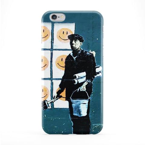 Smiley Phone Case by Banksy