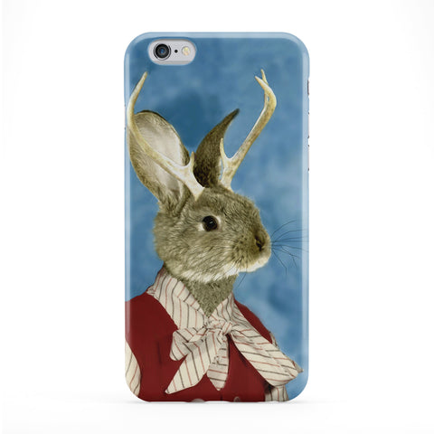 Jackie Jackalope Full Wrap Protective Phone Case by Beat Up Creations