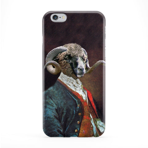 Dominus Coracinus Merino Full Wrap Protective Phone Case by Beat Up Creations
