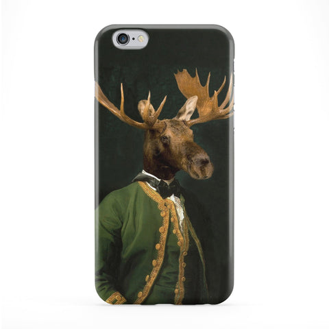 Baron de Capreolinae Full Wrap Protective Phone Case by Beat Up Creations