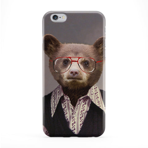 Benji Bear Full Wrap Protective Phone Case by Beat Up Creations