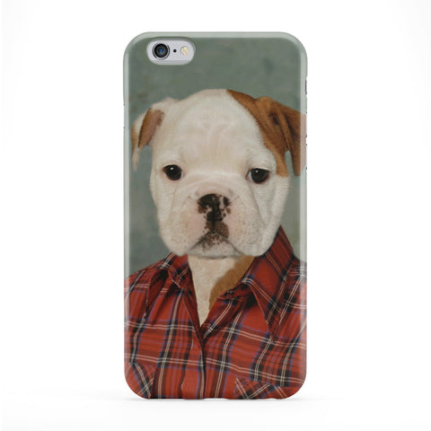 Buddy Bulldog Full Wrap Protective Phone Case by Beat Up Creations