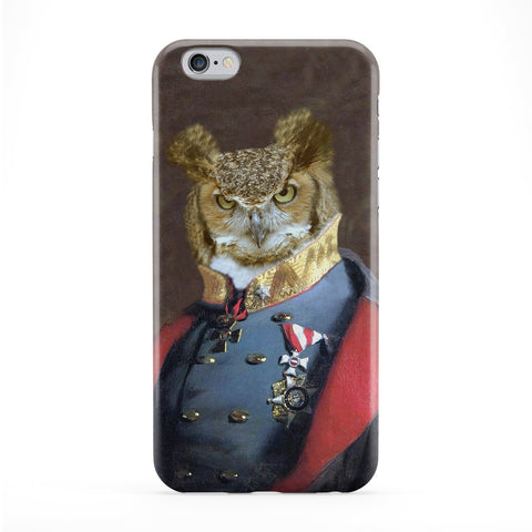 Captain Strigiformes Full Wrap Protective Phone Case by Beat Up Creations