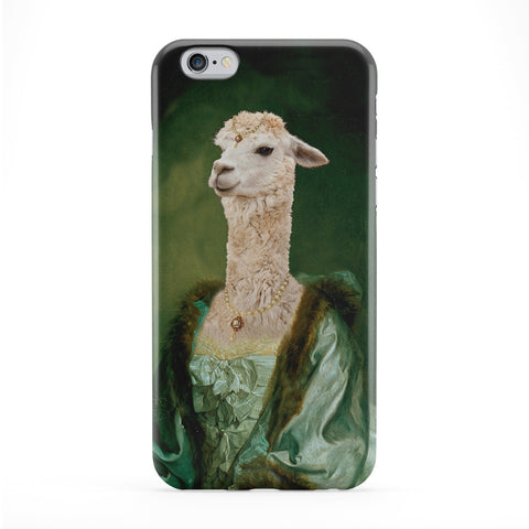 Imperatrice Vicugna Full Wrap Protective Phone Case by Beat Up Creations