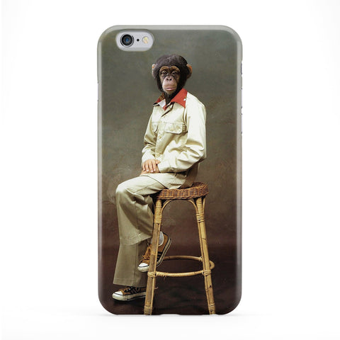 Portrait of Jerry Full Wrap Protective Phone Case by Beat Up Creations