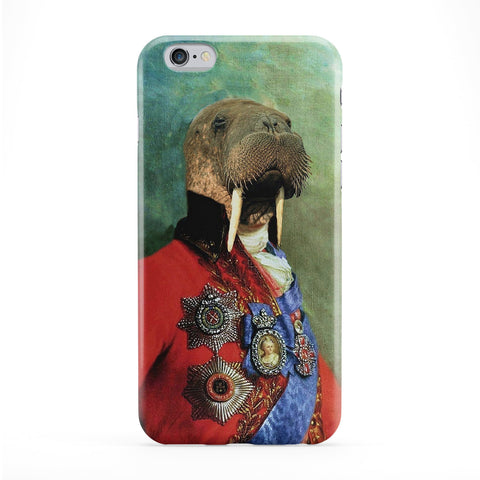 Sir Odobenus Rosmarus Full Wrap Protective Phone Case by Beat Up Creations
