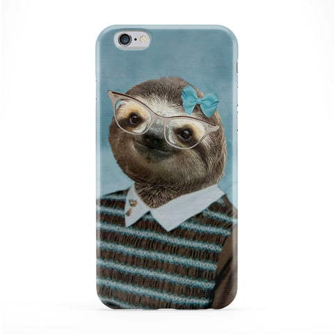 Sylvia Sloth Full Wrap Protective Phone Case by Beat Up Creations