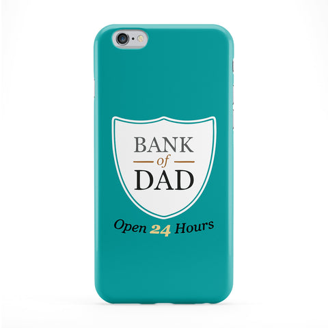 Bank of Dad Full Wrap Protective Phone Case by Chargrilled