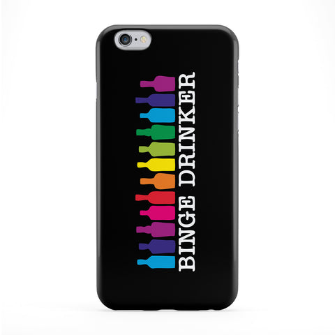 Binge Drinker Full Wrap Protective Phone Case by Chargrilled