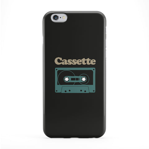Cassette Full Wrap Protective Phone Case by Chargrilled