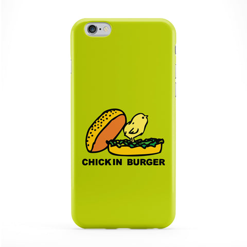 Chick In Burger Full Wrap Protective Phone Case by Chargrilled