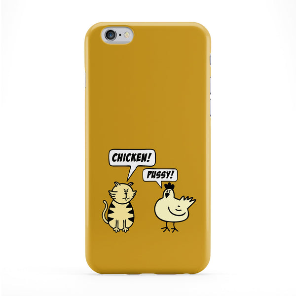 Chicken & Pussy Full Wrap Protective Phone Case by Chargrilled