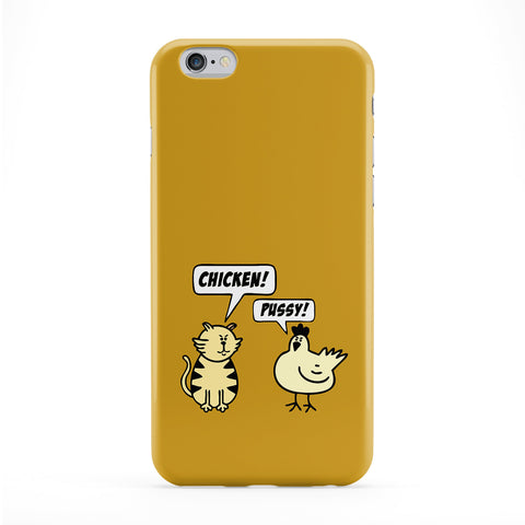 Chicken & Pussy Phone Case by Chargrilled