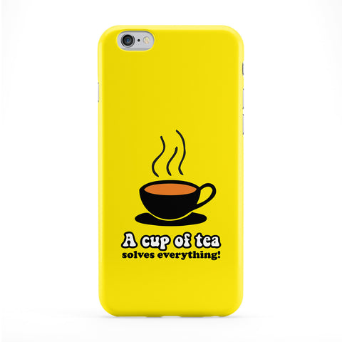 Cup of Tea Full Wrap Protective Phone Case by Chargrilled