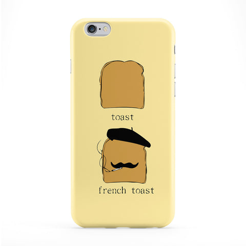 French Toast Full Wrap Protective Phone Case by Chargrilled