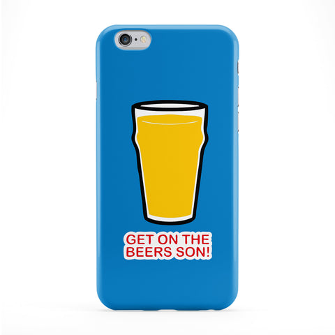 Get On the Beers Son Full Wrap Protective Phone Case by Chargrilled