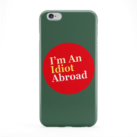 I'm an idiot abroad Full Wrap Protective Phone Case by Chargrilled