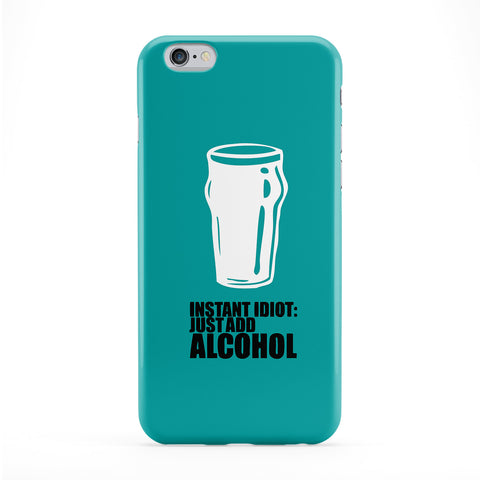 Instant Idiot Full Wrap Protective Phone Case by Chargrilled