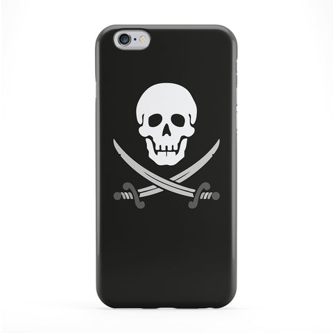 Jolly Roger Full Wrap Protective Phone Case by Chargrilled