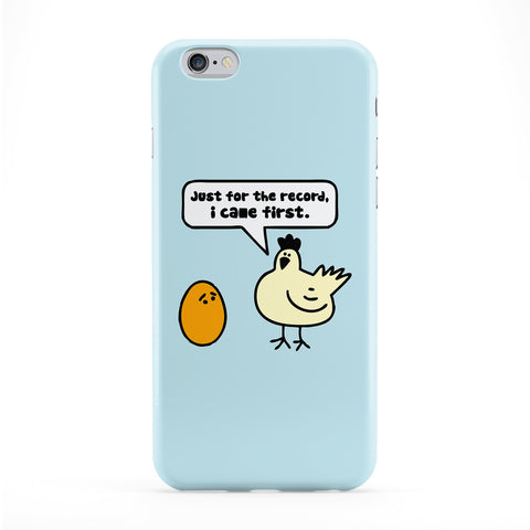 Just for the Record Full Wrap Protective Phone Case by Chargrilled