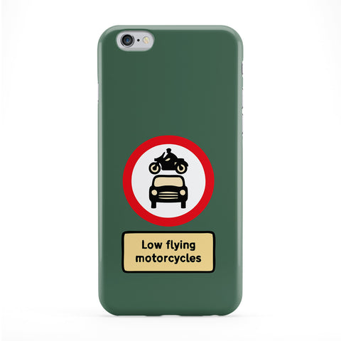 Low Flying Motorcycles Phone Case by Chargrilled