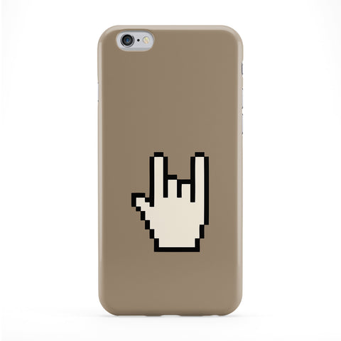 Rock On Full Wrap Protective Phone Case by Chargrilled