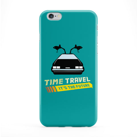 Time Travel Full Wrap Protective Phone Case by Chargrilled