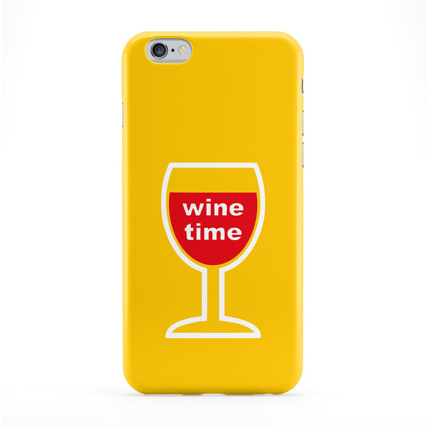 Wine Time Phone Case by Chargrilled