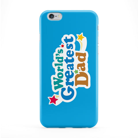 Worlds Greatest Dad Full Wrap Protective Phone Case by Chargrilled