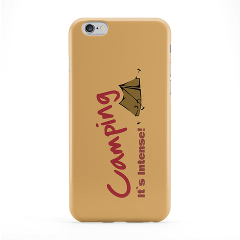 Camping It's Intense! Phone Case by Chargrilled